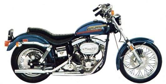 Harley FX models