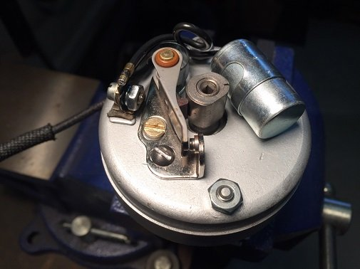 points ignition on Classic Harley