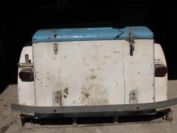 Harley-Davidson Servi-car cargo box