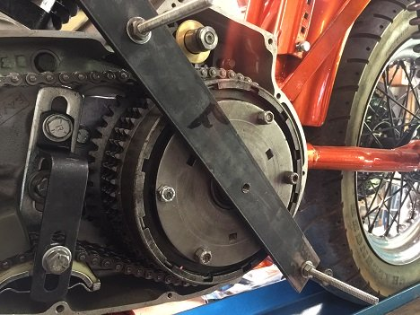DIY Sportster clutch removal tool