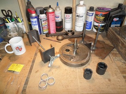 Tools for Ironhead Sportster engine build