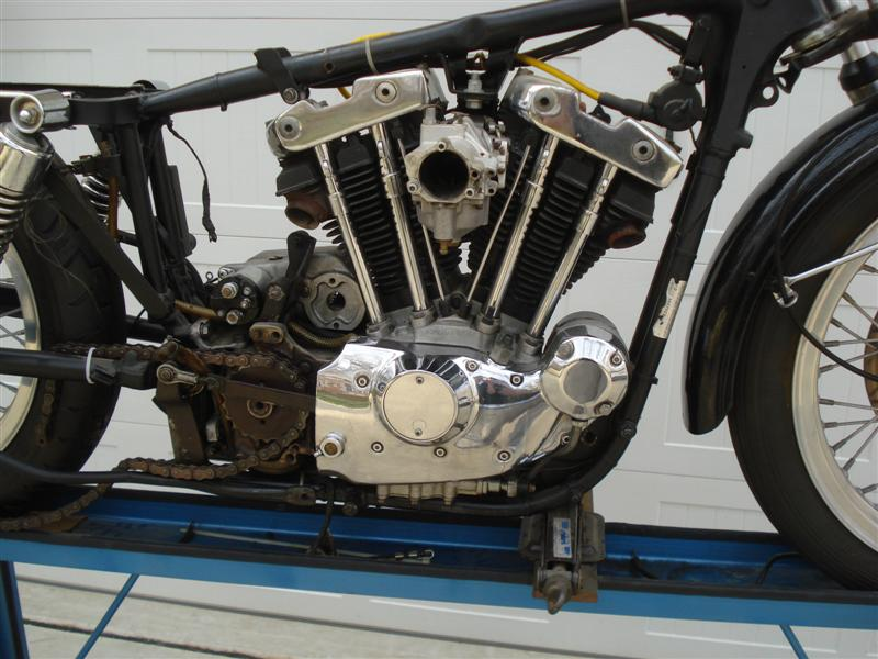 1976 Ironhead Sportster Project