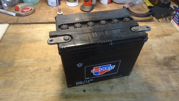 maintainence for motorcycle battery
