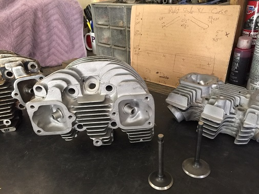 rebuild motorcycle cylinder heads