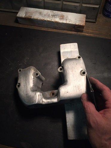 polishing aluminum motorcycle valve covers
