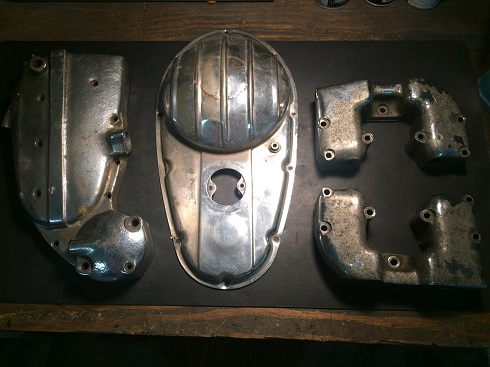 polishing aluminum motorcycle valve covers
