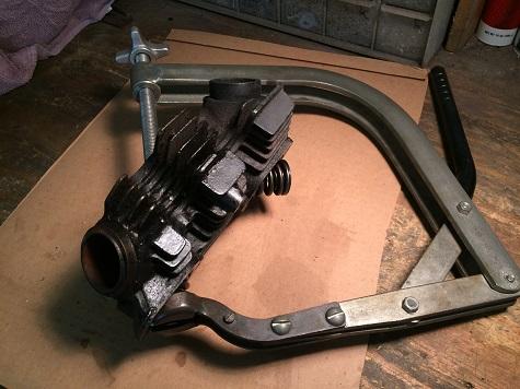motorcycle valve job