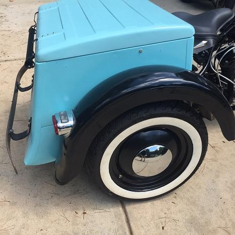 Harley-Davidson Servi-car box