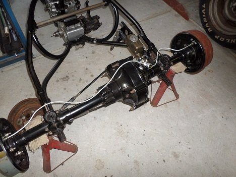 Harley-Davidson Servi-car rear brakes