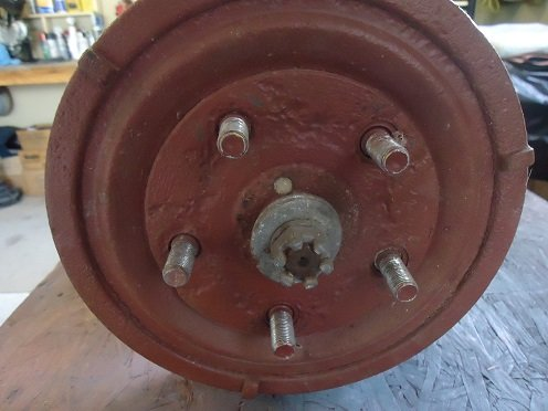 Harley-Davidson Servi-car rear drum brake