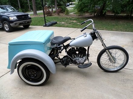 Harley-Davidson Servi-car project