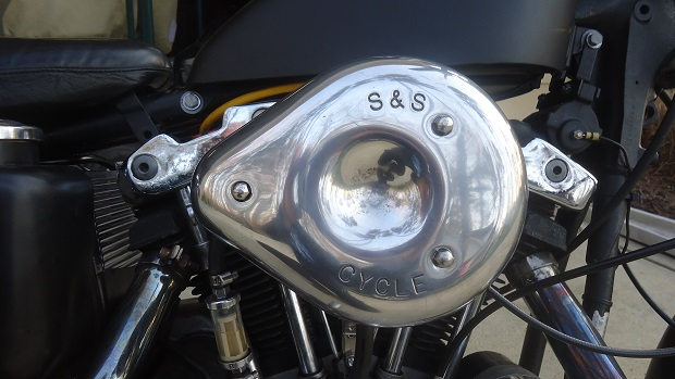 Super B carburetor on Sportster
