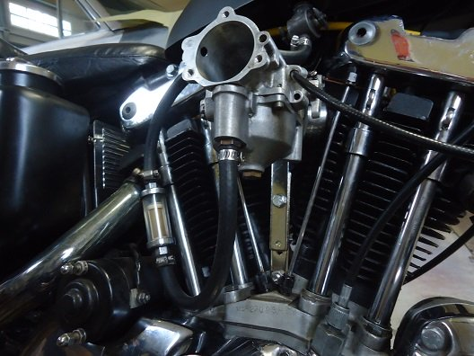 SS Super B carburetor bracket