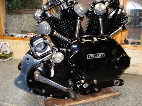Vincent Black Shadow engine