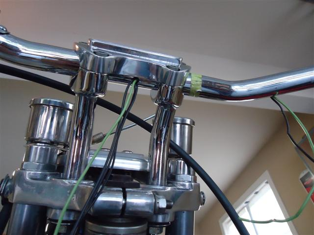 wiring through handlebars on Sportster