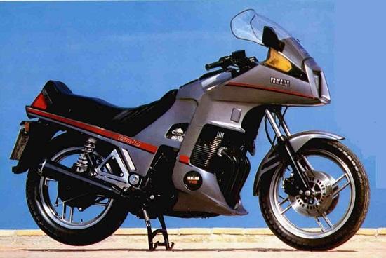 Yamaha Seca Turbo history